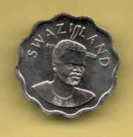 SWAZILAND - 5 CENTS 2002 KM48 - Swazilandia