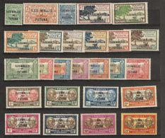 Nouvelles Calédonie _ Surch Wallis-Et Futuna  (1927 ) N°40/65 - Wallis And Futuna