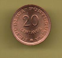 MOZAMBIQUE 20 CENTAVOS 1974 KM88 - Mozambique