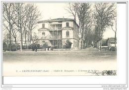 CASTELNAUDARY CHALET H BRINGUIER L'AVENUE DE LA GARE (PLI) - Castelnaudary