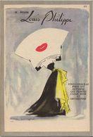 CARTON PUBLICITAIRE PARFUM ROUGE A LEVRES LOUIS PHILIPPE - Publicidad