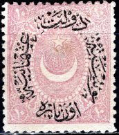TURKEY 1876 Moon & Crescent - 10 Papurple MH - 1858-1921 Empire Ottoman