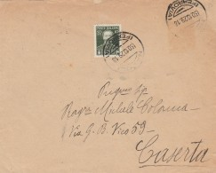 LETTERA 1929 CON 50+10 CENT CINQUANTENARIO MORTE VITT.EM.II (RX323 - 1900-44 Vittorio Emanuele III