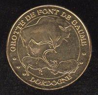 Monnaie De Paris - Grotte De Fond De Gaume - Monnaie De Paris