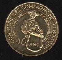 Monnaie De Paris - Montbéliard - Les Compagnons Du Boitchu - Monnaie De Paris