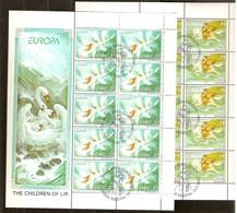 Irlande Ireland Ierland CEPT 1997 Yvertn° 1003-1004 Feuillets Complètes (°) Oblitéré Used Cote 25,00 Euro - 1949-... République D'Irlande