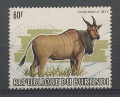1982  Animaux  6F  Taurotragus Oryx    Hors D'une Série Cotée 700,-E - Burundi