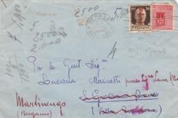 LETTERA REPUBBLICA SOCIALE CON 50 SS +20 CENT.  (RX873 - 4. 1944-45 Repubblica Sociale