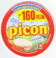 """Algérie - 1  Couvercle De  Fromage Fondu """" Picon"""" Nouvelle Promotion """"16 Portions.. - Fromage"""