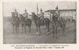 CARTOLINA NON VIAGGIATA PRIMI 900 REGGIMENTO NIZZA CAVALLERIA (RX954 - Regimenten