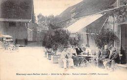 MARNAY SUR SEINE - Hotel De La MARINE - Maison LENOIR - COPIN Successeur - Aube - 10 - Autres Communes