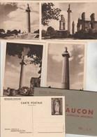 Entier Postal  Yvert N° 9 Pochette Avec 4 Cartes Postales Neuves Mémorial Montfaucon - Cartes Postales Types Et TSC (avant 1995)