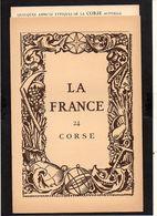 """1939 Pub.Marinier La France Par Provinces N° 24 """"Corse"""" Carte 17é De Blaeu + Photos,Ajaccio,Bonifacio,Corte,Ponte Novo.. - Corse"""