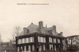 CPA CHAUVRY - LE CHATEAU DE CHAUVRY - France