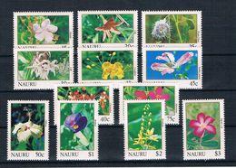 Nauru 1991 Blumen Mi.Nr. 375/86 Kpl. Satz ** - Nauru