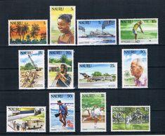 Nauru 1984 Bilder Aus Nauru Mi.Nr. 287/98 Kpl. Satz ** - Nauru