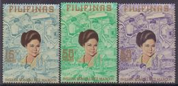 PHILIPPINNES :1973: Y.938-40 Dentelled/neufs/MNH : ## IMELDA ROMUALDEZ MARCOS ## : - Philippines
