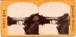 594-USA, TNew-York, Central Park, Bridge - Photos Stéréoscopiques