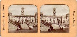 594-Italie, Rome, 3 Vues Dont 1 Déchirée - Photos Stéréoscopiques