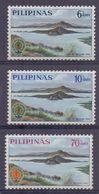 PHILIPPINNES :1965: Y.623-25 Dentelled/avec Trace De Charnière/hinged : ## Eradication Of MALARIA ## : PALUDISME,HEALTH, - Philippines