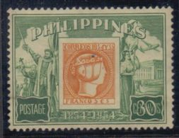 PHILIPPINNES :1954: Y.419 Dentelled/neuf Sans Gomme/MNH Without Glue :  ## Centenary Of The Postal Stamp ## - Philippines