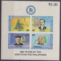 PHILIPPINNES :1981: Y.BF15B Not Dentelled/neuf/MNH :  ## 400th Anniversary Of The Installation Of The Jesuits At ... - Philippines