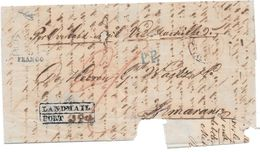 ROTTERDAM HOLLAND PRECURSEUR CIRCULEE 1848 TO SAMARANG SEMARANG NED INDIE - Indes Néerlandaises