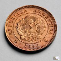 Argentina - 1 Centavo - 1893 - Argentina