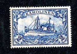 W5714  Caroline Isl. 1900 Mi.17* Offers Welcome - Colonia: Isole Caroline