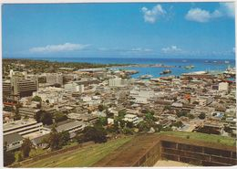 Ile Maurice,océan Indien,MAURITIUS,PORT LOUIS,VUE AERIENNE - Maurice