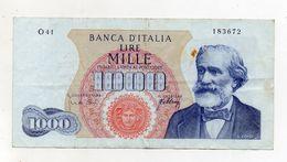 """Italia - Banconota Da Lire 1.000 """"Verdi """"- Medusa - 1° Tipo - Decreto 20 Maggio 1966 - (FDC8277) - [ 2] 1946-… : République"""