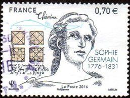Oblitération Cachet à Date Sur Timbre De France N° 5036 **  Sophie Germain - Mathématicienne Et Philosophe - France