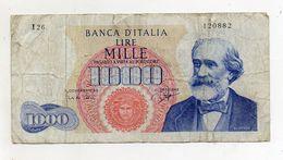 """Italia - Banconota Da Lire 1.000 """"Verdi """"- Medusa - 1° Tipo - """"R2"""" - Decreto 25 Luglio 1964 - (FDC8279) - [ 2] 1946-… : République"""