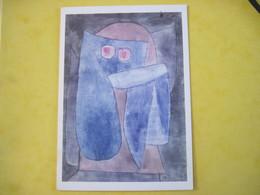 CPSM  Paul Klee Angelus Dubiosus 1939   19..  T.B.E - Pintura & Cuadros