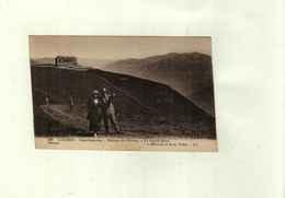 Marcophilie Période Semi Moderne SUR CPA LUCHON  Flamme Daguin De Bagnères De Luchon - 1877-1920: Semi Modern Period