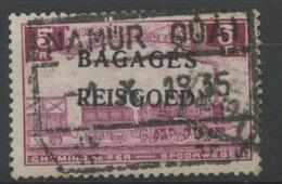 5F Bagages Ø Namur Quai      Locomotive    Cote  5,- E - Gepäck