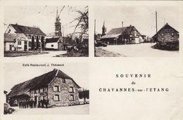 Souvenir De Chavannes Sur L'Etang - Café Restaurant J. Thévenot - Frankreich