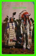 INDIENS DE L'AMÉRIQUE - CHIEF BENJAMIN AND WIFE - OGALA SIOUX - SCENIC ART - - Indiens De L'Amerique Du Nord