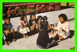 ROTORUA, NEW ZEALAND - MAORI CHILDREN - TRAVEL IN 1963 - - Nouvelle-Zélande