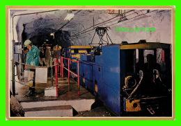 JOHANNESBURG, AFRIQUE DU SUD - BOARDING UNDERGROUND TRAIN IN RAND GOLD MINE - - Afrique Du Sud