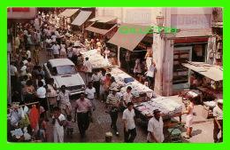 PANAMA CITY, REPUBLICA DE PANAMA - SALSIPUEDES STREET - ANIMATED - - Panama