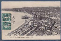 = Nice (Alpes-Maritimes) Vue Générale La Promenade Des Anglais Et Le Casino De La Jetée Promenade 17.8.12 - Niza
