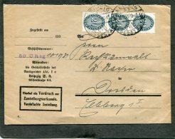 Deutsches Reich Brief Dienstpost 1911 - Deutschland