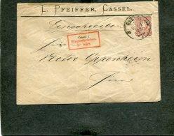 Deutsches Reich R Brief 1877 - Deutschland