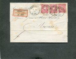 Deutsches Reich R Brief 1879 - Deutschland