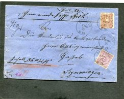 Deutsches Reich Brief 1876 - Deutschland