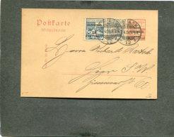 Deutsches Reich Marokko Postkarte 1906 - Ufficio: Marocco