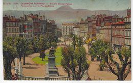 CPA 63 ( Puy De Dome ) - CLERMONT FERRAND - Square Blaise Pascal - Perspective Sur Le Puy De Dome - Clermont Ferrand