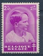 "BELGIE - OBP Nr 445 - Curiosum: Kleurvlek Rechts In Marge"" - MNH** - Variétés Et Curiosités"