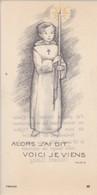 Andachtsbild Kind Mit Kerze - Communion Ligsdorf 1962 - 11,5*6cm  (33103) - Andachtsbilder